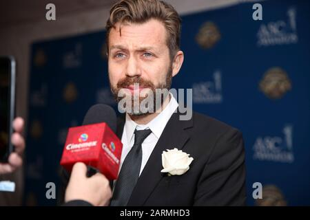 Jarin Blaschke attends the 34th Annual American Society of Cinematographers ASC Awards at Ray Dolby Ballroom in Los Angeles, California, USA, on 25 January 2020. - Stock Photo