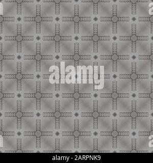 Vector seamless pattern. Modern stylish texture. - Stock Photo