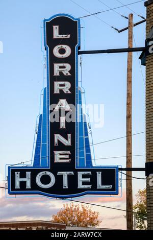 USA,Deep South,  Tennessee, Memphis, National Civil Rights Museum, Lorraine Motel