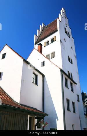 Taschentorturm Ingolstadt is a city in Bayern/Germany with many historical attractions - Stock Photo