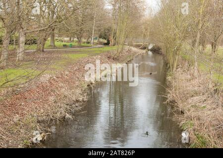 Bishops Stortford, Hertfordshire, UK - Stock Photo