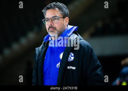 firo: 31.01.2020, Fuvuball, 1.Bundesliga, season 2019/2020, Hertha BSC Berlin - FC Schalke 04 coach David Wagner (FC Schalke 04) Portrait   usage worldwide - Stock Photo