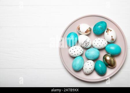 Easter eggs. Easter Eggs Composition