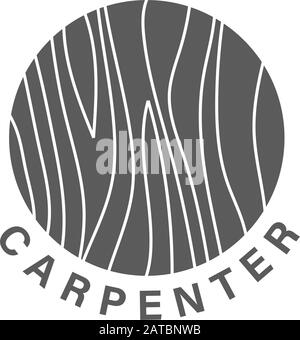 Logo Design Concept About Carpenter Fine Wood Hand Made Furnishing Carpenter Design Element In Vintage Style For Logo Label Badge T Shirts Stock Vector Image Art Alamy