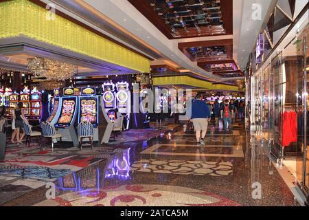 Las Vegas NV, USA September 30, 2017 The Cosmopolitan Hotel & Casino. Las Vegas - Stock Photo