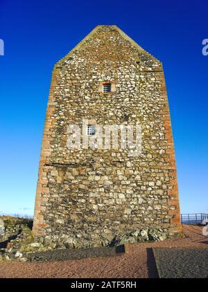 Smailholm Tower near Kelso, Roxburghshire, Scottish Borders, UK. - Stock Photo