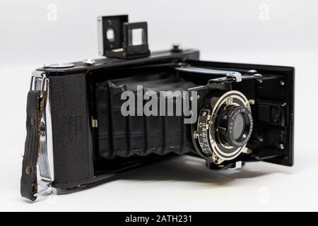 old camera from the last century - Stock Photo
