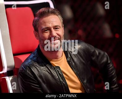 Berlin, Germany. 04th Feb, 2020. Coach Sasha, singer, on the sidelines of 'The Voice Kids' - season 8. Credit: Britta Pedersen/dpa-Zentralbild/dpa/Alamy Live News