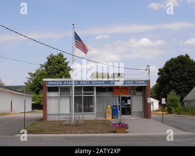 Otego USA 26 July 2012 : US Post Office of Otego NY - Stock Photo
