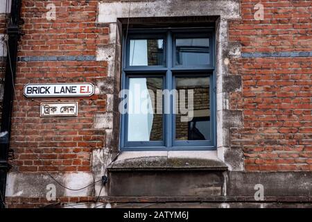 Brick Lane East London - Stock Photo