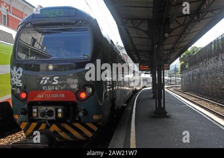 Around Italy - Como Railway Station - Stock Photo