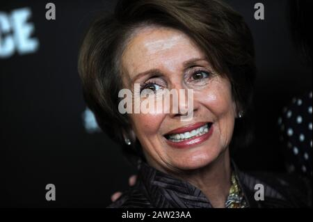 Manhattan, United States Of America. 04th Mar, 2013. NEW YORK, NY - MARCH 21: Nancy Pelosi attends the New York premiere of the HBO documentary Fall to Grace at Time Warner Center Screening Room on March 21, 2013 in New York City. People: Nancy Pelosi Transmission Ref: MNC - Stock Photo
