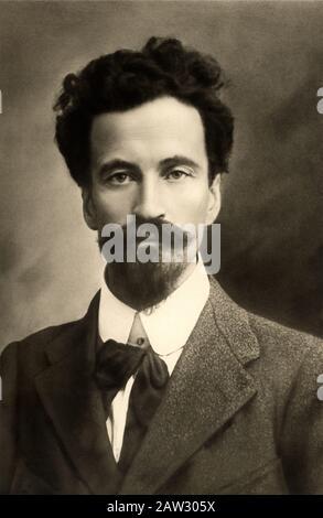 1910 ca. , TRENTO , Trentino Alto Adige , ITALY : The italian potriot CESARE BATTISTI ( 1875 - 1916 ) , founder of socialist newspaper L' Avvenire del - Stock Photo