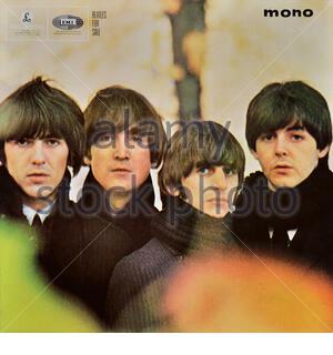 The Beatles original vinyl album cover - Beatles For Sale - 1964 - Stock Photo