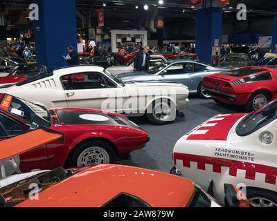 Ford Mustang Shelby GT 350 at Retromobile Classic car show Paris 05/02/2020 - Stock Photo