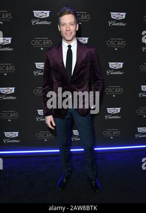 Los Angeles, California, USA. 06th Feb, 2020. 06 February 2020 - Los Angeles - Barrett Foa. Cadillac Celebrates The 92nd Annual Academy Awards held at Chateau Marmont. Photo Credit: Birdie Thompson/AdMedia /MediaPunch Credit: MediaPunch Inc/Alamy Live News - Stock Photo