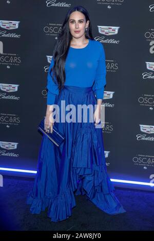 Los Angeles, California, USA. 06th Feb, 2020. Rumer Willis attends Cadillac's Annual Oscar Week Party at Chateau Marmont in Los Angeles, California, USA, on 07 February 2020. | usage worldwide Credit: dpa picture alliance/Alamy Live News - Stock Photo