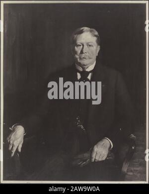 Deli Company: Group portraits and portraits description: Portrait Painting Jacob Theodoor Cremer (1847-1923) Keywords: portraits Person Name: Cremer, J. Th. - Stock Photo