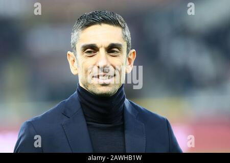 Torino, Italy. 08th Feb, 2020. moreno longo (coach torino) during Torino vs Sampdoria, italian Serie A soccer match in Torino, Italy, February 08 2020 Credit: Independent Photo Agency/Alamy Live News - Stock Photo