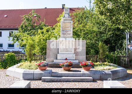 Municipal Germering, District Fürstenfeldbruck, Upper Bavaria, Germany: Ehrendenkmal, War Monument