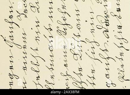 Die Schrift bei Geisteskrankheiten; eine Atlas mit 81 Handschriftproben . 1 ^ i **l*fc ml . r^ ^k t4. - Stock Photo