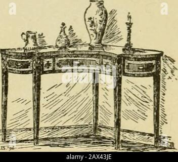 A young people's history of Virginia and Virginians .. . ANTIQUE BEDSTEAD.. - Stock Photo