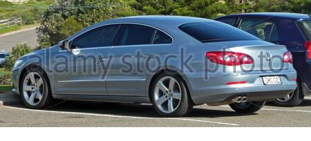 'English: 2009–2010 Volkswagen Passat CC 125TDI coupe. Photographed in Cronulla, New South Wales, Australia.; 22 May 2010; Own work; OSX; ' - Stock Photo
