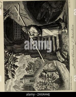 Les Vies des Pères des déserts d'Orient : leur doctrine spirituelle et leur discipline monastique . leur imagination et à la dépra-vation de leur cœur. Nous avons cru devoir donner cet éclaircissement, pour dé-mêler aux yeux des lecteurs le bon grain que le père de familleavait semé dans les solitudes de Syrie, et qui produisait au cen-tuple par lheureuse fécondité des vertus, davecxette malheureuseivraie que lhomme ennemi y voulut semer ; mais quon sut bienaisément découvrir, et sur laquelle tombèrent plus dun anathèmede la part des évêques catholiques, et enfin dans le concile gé-néral dÉphè - Stock Photo