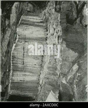 ..Report on the building and ornamental stones of Canada, volI-V . Plate XXIII. - Stock Photo