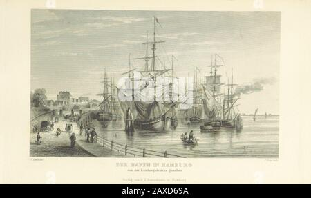 'Image taken from: Title: Hamburg und seine Umgebungen, im 19teⁿ Jahhrundert ... Text vom Oberauditeur F. G. Buek. (Nach der Natur gezeichnet von Carl Alex. Lill u. A.) Author: BUEK, Friedrich Georg. Contributor: LILL, Carl Alexander. Shelfmark: British Library HMNTS 10250.e.5. Page: 319 Place of Publishing: Hamburg Date of Publishing: 1844 Issuance: monographic Identifier: 000520187 Explore: Find this item in the British Library catalogue, 'Explore'. Download the PDF for this book (volume: 0) Image found on book scan 319 (NB not necessarily a page number) Download the OCR-derived text for thi Stock Photo