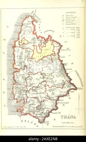 'Thane district 1896; 6 December 2013, 09:54; Image taken from page 14 of 'Gazetteer of the Bombay Presidency. [Edited by Sir James M. Campbell. General index, by R. E. Enthoven.]'      This file is from the Mechanical Curator collection, a set of over 1 million images scanned from out-of-copyright books and released to Flickr Commons by the British Library.  View image on Flickr  View all images from book  View catalogue entry for book.  беларуская (тарашкевіца)| English| suomi| français| +/−; The British Library; '