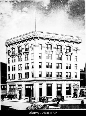 Selections from the latest work of Milburn, Heister & Co., architects . ftm^yig.. THE NATIONAL BANK OF ROCKY MOUNTRocky Mount, N. C. MiLBUKN, HEISTER & CO., Architects, Washington, D. C. - Stock Photo