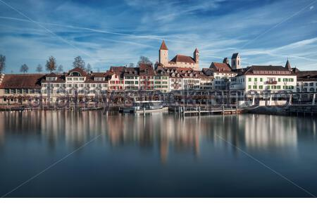 Rapperswil St. Gallen - Stock Photo