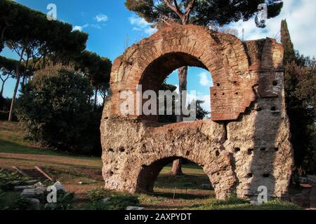 Around the Roman forums, Rome - Stock Photo