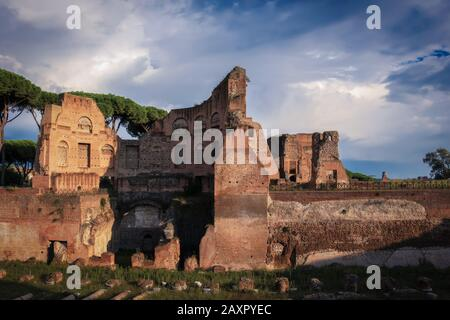 A tour around the Roman Forum, Rome - Stock Photo
