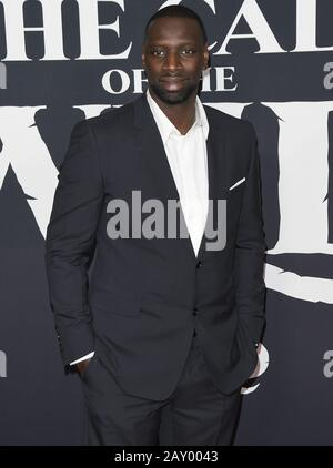 Los Angeles, USA. 13th Feb, 2020. Omar Sy arrives at the 20th Century Studios' THE CALL OF THE WILD Los Angeles Premiere held at the El Capitan Theatre in Hollywood, CA on Thursday, ?February 13, 2020. (Photo By Sthanlee B. Mirador/Sipa USA) Credit: Sipa USA/Alamy Live News - Stock Photo