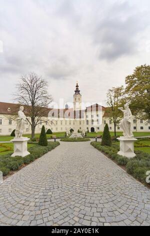 Stift Altenburg, Waldviertel, Lower Austria, Austria - Convent Altenburg, Waldviertel Region, Lower Austria, Austria - Stock Photo