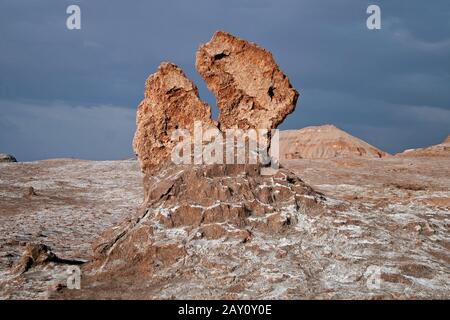 Valle de la Luna, Tal des Mondes, Chile - Stock Photo