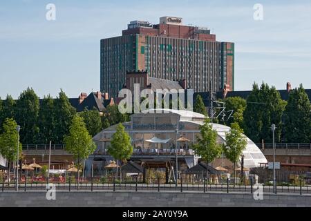 University hospital Charite in Berlin, Germany - Stock Photo