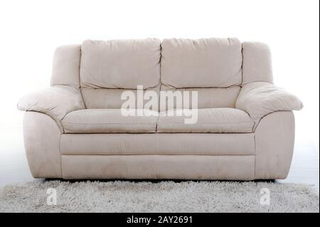 Sofa isolated - Stock Photo