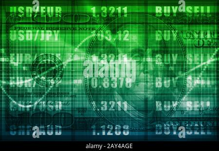 Foreign Exchange - Stock Photo