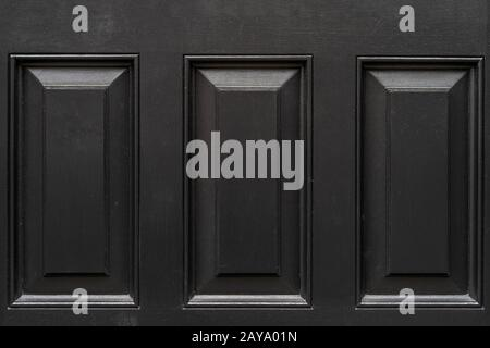 Vintage black door panels. High quality texture and background