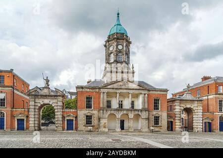 Bedford Tower, Dublin, Ireland - Stock Photo