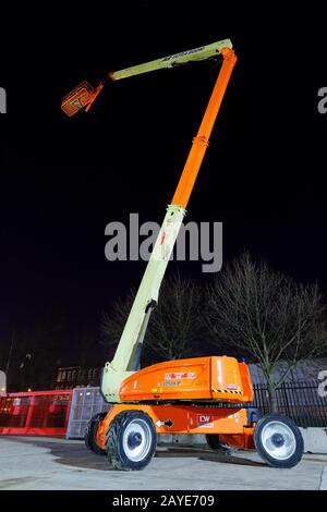 JLG 1250 AJP Ultra Boom work platform, for working at heights - Stock Photo