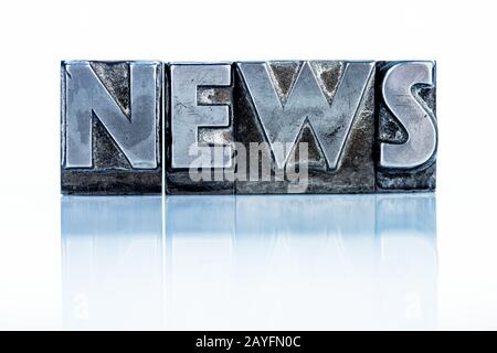 News - Blog - Bleibuchstaben - Stock Photo
