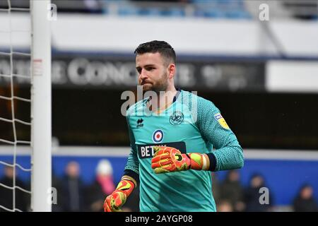 Loftus Road Stadium, London, UK. 15th Feb, 2020. LONDON, ENGLAND - FEBRUARY 15TH Liam Kelly of QPR during the Sky Bet Championship match between Queens Park Rangers and Stoke City at Loftus Road Stadium, London on Saturday 15th February 2020. (Credit: Ivan Yordanov | MI News)Photograph may only be used for newspaper and/or magazine editorial purposes, license required for commercial use Credit: MI News & Sport /Alamy Live News - Stock Photo
