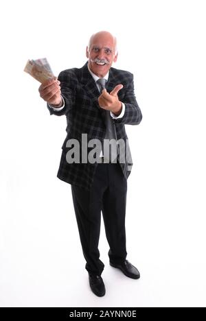 Glücklicher Rentner - Stock Photo