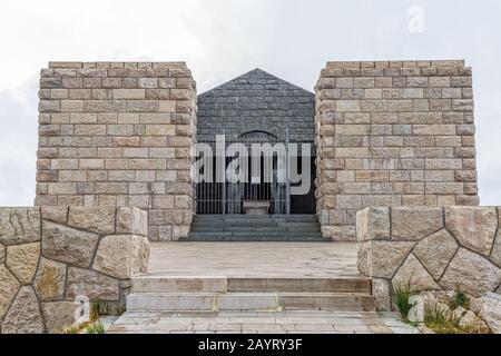 Njegos mausoleum Lovcen - Stock Photo