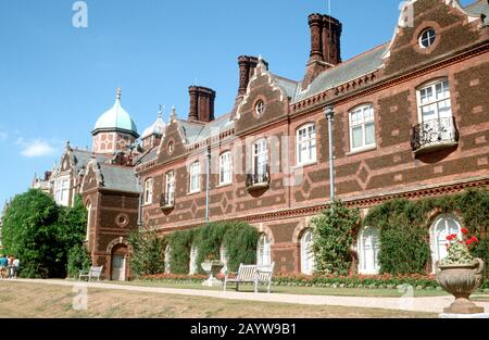 Home of HM Queen Elizabeth II Sandringham House, Norfolk, England. - Stock Photo
