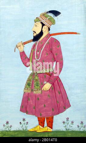 Shah Shuja (June 23, 1616 – 1660) was the second son of the Mughal emperor Shah Jahan and empress Mumtaz Mahal. Emperor Shah Jahan appointed Shah Shuja as the Subahdar or governor of Bengal in 1639. In 1642, Shuja was also given the charge of the province of Orissa. He ruled the provinces for more than twenty years, from 1639 to 1660. - Stock Photo